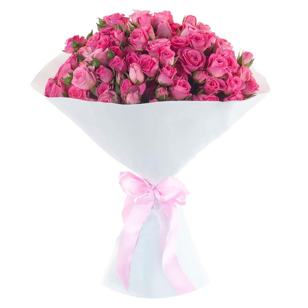 Букеты из роз для девочек